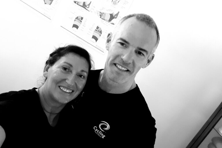 Karina with Stuart Jones